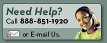 Need help? Call 1-888-851-1920 or email us.