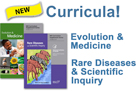Cover images for Evolution & Medicine and Rate Diseases & Scientific Inquiry supplements