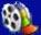 vidio icon: picture of a small film wheel
