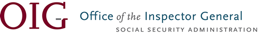 Office of the Inspector General, SSA Social Security Administration