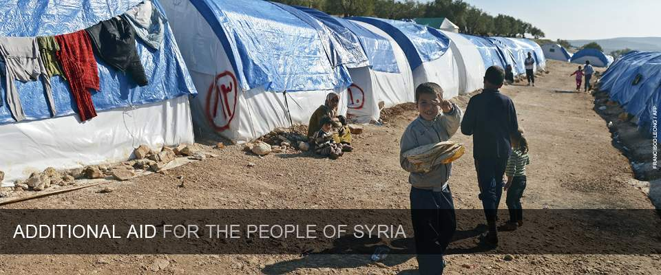 Additional Aid For The People Of Syria - Photo: Francisco Leong/AFP