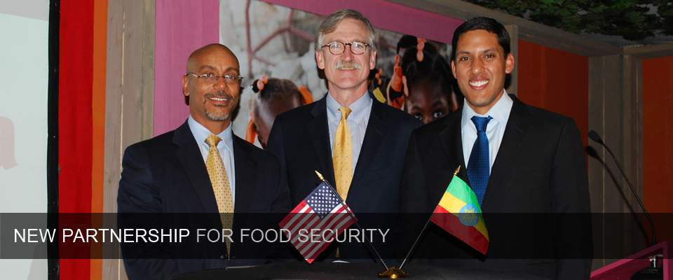 USAID, DuPont work with Government of Ethiopia to improve food security