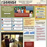 Thumbnail image of SAMHSA's website