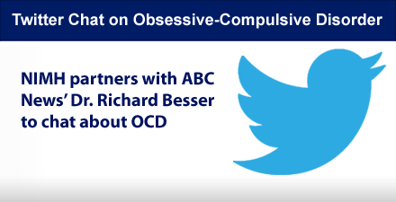 Twitter chat on obsessive-compulsive disorder