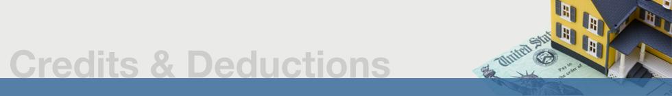 Credits & Deductions