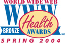 World Wide Web Bronze Health Award Spring 2003