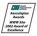 Aesculapius Awards WWW Site 2002 Award of Excellence