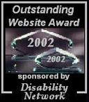 Outstanding Website Award 2002