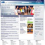 Thumbnail image of U.S. Dept of Education website