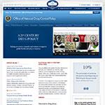 Thumbnail image of ONDCP website