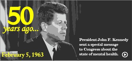 Remembering JFK's Mental Health Speech