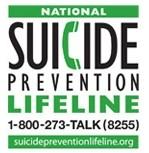 Call 1-800-273-TALK (8255)