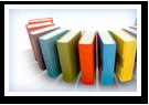 Una imagen de unos libros organizados en un semicírculo