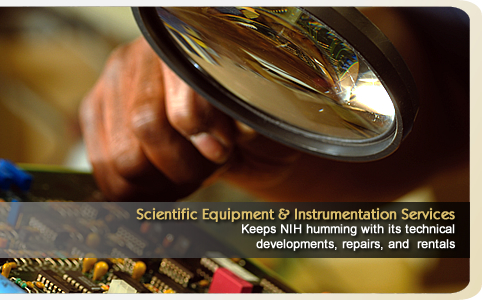 Scientific equipment and Instrumentation Services