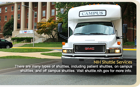 NIH Shuttle Services