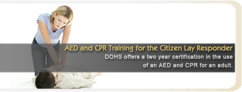 AED and CPR Training for the Citizen Lay Responder