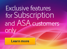 Exclusive features for Subscription and Upgrade Plan customers only