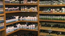 Shelves of supplements