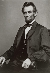 Abraham Lincoln. 16th president of the United States, 1861 - 1865