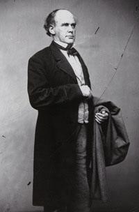 photo of Salmon P. Chase, Secretary of the Treasury, 1861 - 1864