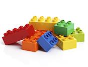 Self Assembling DNA Bricks