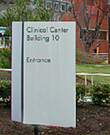 Photo of entrance to Clinical Center