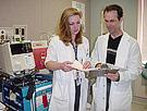 Photo of nurses consulting