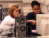 """Photo: """"Cambridge Housing Authority BTOP in Action Students Using Computer"""""""
