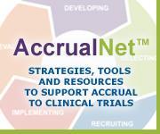 AccrualNet: AccrualNet.Cancer.gov