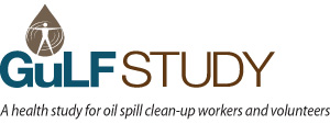 Gulf Study Logo: A health study for oil spill clean-up workers and volunteers