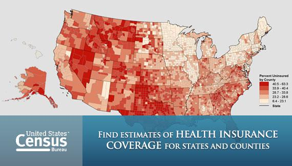 Estimates of Health Insurance Coverage for States and Counties