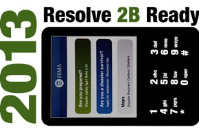 Resolve 2B Ready in 2013 with cellphone display