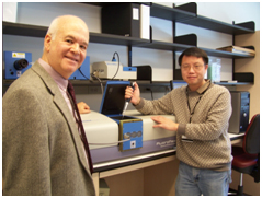 Photo of Michael J. Leibowitz and Guo-Qing Tang