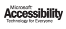Microsoft Accessibility - Technology for Everyone logo
