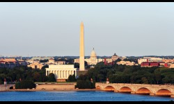 One of the most iconic shots in all of DC, it's not hard to take advantage of this photo op yourself. It was taken from the Memorial Bridge.