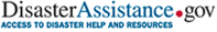 DisasterAssistance.gov -  Access to Disaster Help and Resources