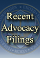 Recent Advocacy Filings