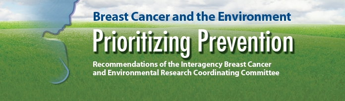 IBCERCC - Breast Cancer and the Environment - Prioritizing Prevention. Recommendations of the Interagency Breast Cancer and Environmental Research Coordinating Committee