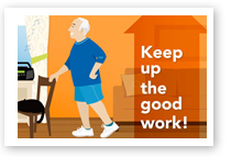 Keep Up the Good Work!