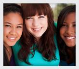 Diverse Group of Teenage Girls