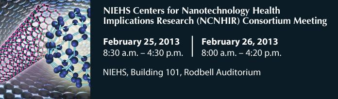 NCNHIR Consortium Meeting February 25-26 2013