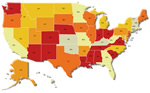 Map pf Unemployment Insurance (UI) Improper Payments By State