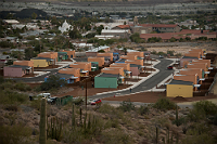U.S. Customs and Border Protection, along with General Services Administration, celebrated the opening Jan. 31, of a new community with 21 family homes for CBP officers and agents securing a remote portion of Arizona's southwest border.