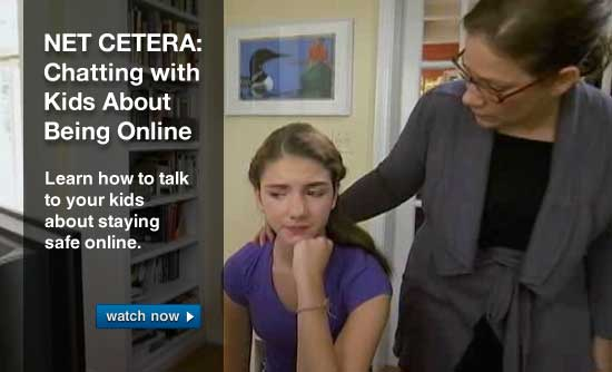 NET CETERA: Chatting with Kids About Being Online. Learn how to talk to your kids about staying safe online.