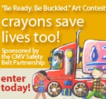 'Be Ready. Be Buckled.' art contest poster