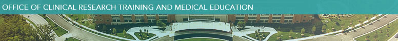 Office of Clinical Research and Training Medical Education