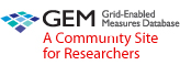 GEM - Grid-Enabled Measures Database A Community Site for Researchers