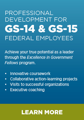 Excellence in Government Fellows program now accepting applications
