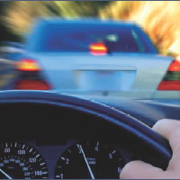 Forward Collision Warning (FCW) detects vehicles ahead and cautions driver of impeding collisions.