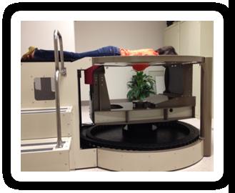 Figure 1: Boone's dedicated breast CT scanner